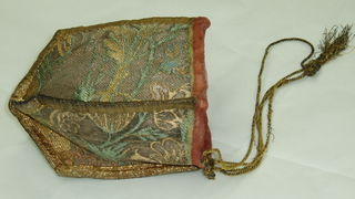 UK National Trust Textile Conservation Studio, Purse from the Collection of Claydon House