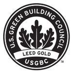 LEED Certified Gold seal